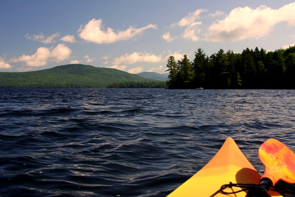 Friday's Maine Photo of the Day....Kayaking on Lower Wilson Pond